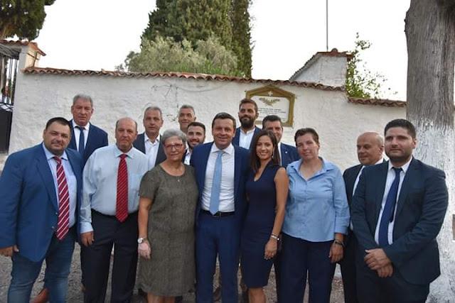 Οι εντεταλμένοι σύμβουλοι του Δήμου Βόρειας Κυνουρίας.