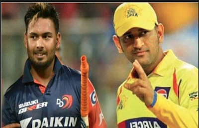 Chennai super kings vs delhi capitols