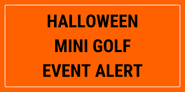 Putt'n Around in Delray Beach, Florida, USA will be having a Haunted Miniature Golf course throughout October