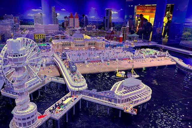 LEGO Miniatuurstad Den Haag Scheveningen