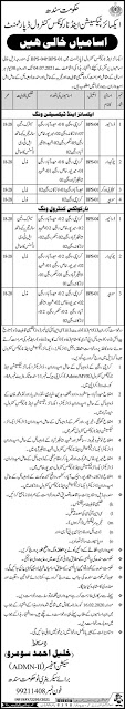 Excise and Taxation Anti Narcotics Department Latest Jobs 2021