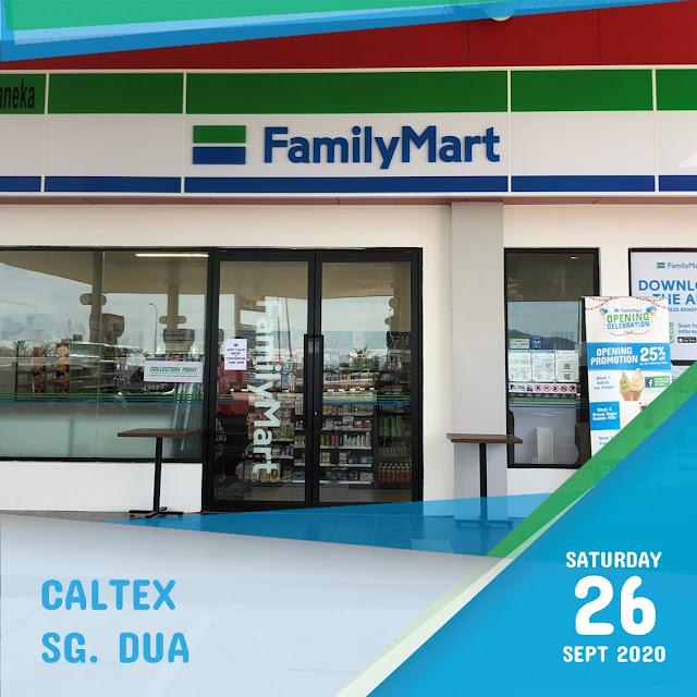 FamilyMart Caltex Sg. Dua Penang Blogger Influencer