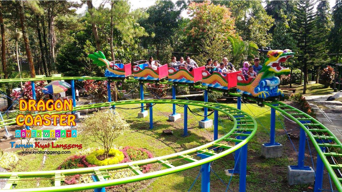 Dragon Coaster diTaman Kyai Langgeng Magelang