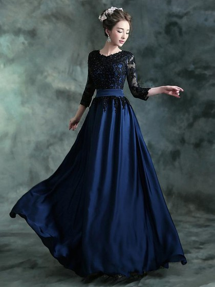 http://uk.millybridal.org/product/scoop-neck-tulle-elastic-woven-satin-appliques-lace-3-4-sleeve-perfect-prom-dresses-ukm020102182-19484.html?utm_source=post&utm_medium=1634&utm_campaign=blog
