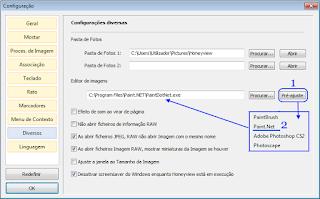 4-Honeyview - configurações - associar editor