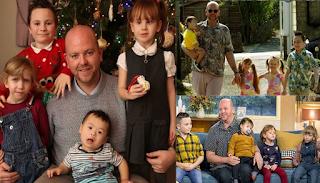 34χρονος μπαμπάς έχει υιοθετήσει 5 παιδιά με προβλήματα αναπηρίας και ειδικές ανάγκες και είναι παράδειγμα για όλους