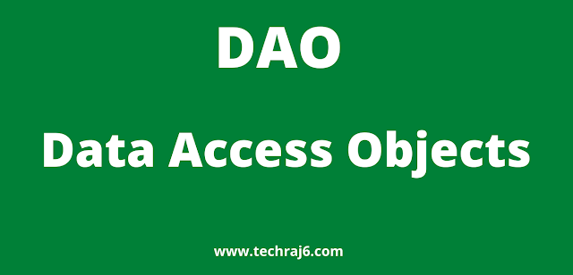 DAO full form, what is the full form of DAO