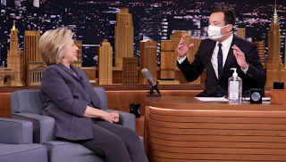 In Trump Follow Up, Jimmy Fallon Wears Surgical Mask For Hillary Clinton