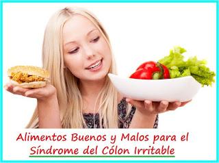 Alimentos-Buenos-y-Malos-para-el-Síndrome-del-Cólon-Irritable-Intestino-Irritado-Inflamado