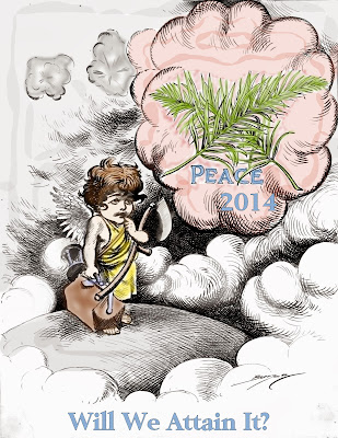 New Year's Peace 2014 clipart