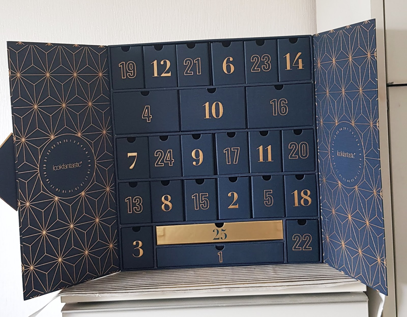 The Look Fantastic 2019 beauty Advent calendar
