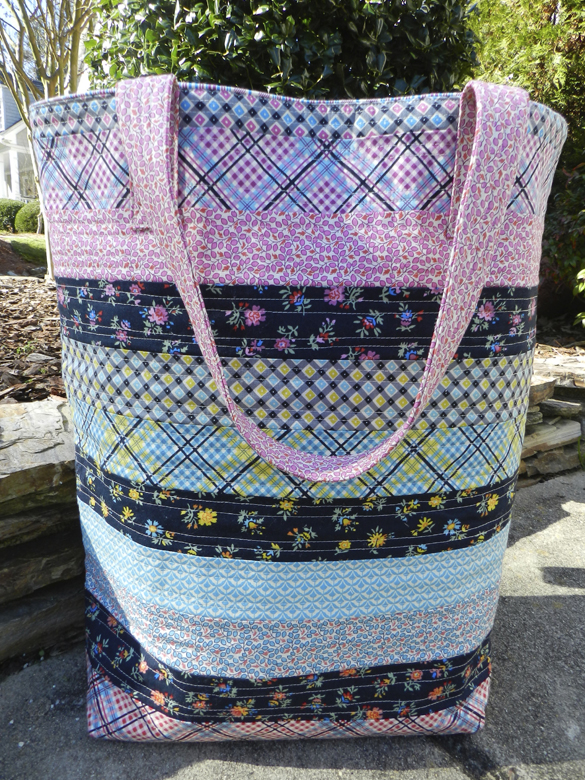 BIG Bucket Bag Tote Tutorial