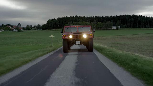 جينيرال موتورز تسعى لاعادة احياء هامر عن طريق تحويلها لسيارة كهربائية