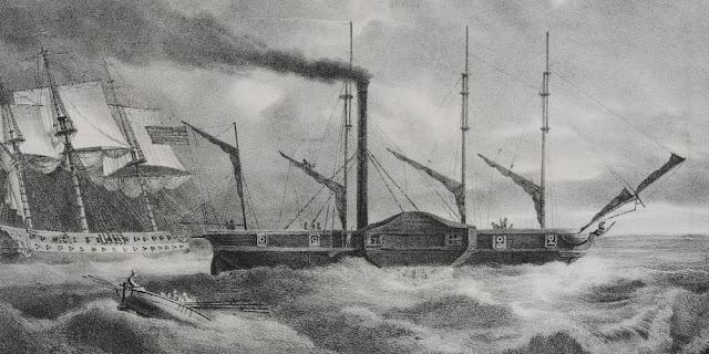 Το πρώτο Ατμόπλοιο του Ελληνικού Στόλου στ΄Ανάπλι