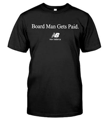 New Balance Board Man Gets Paid Kawhi Raptors T Shirts Hoodie