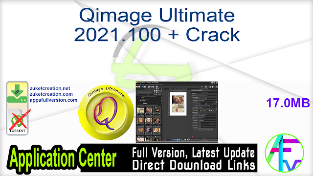 Qimage Ultimate 2021.100 + Crack