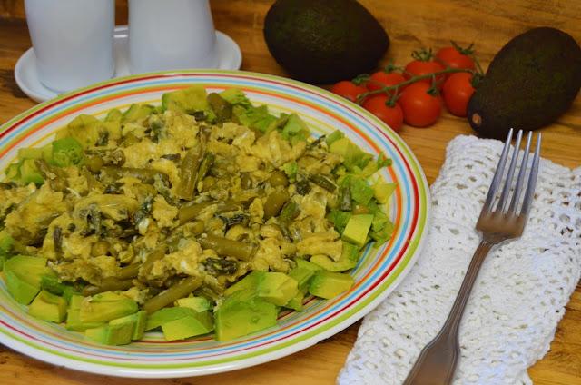 Las delicias de Mayte, recetas saludables, recetas, receta, recetas de cocina, revueltos, revueltos de verduras, revueltos de champiñones, revueltos de esparragos, revueltos con huevo, revueltos recetas, revueltos de patatas,
