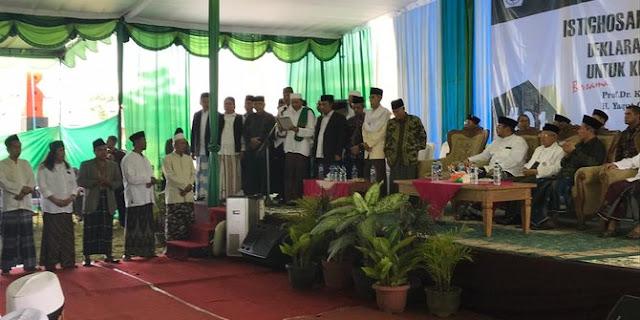 Kiai dan Santri Se Yogyakarta Beri Dukungan ke KH Ma'ruf Amin