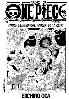 One Piece 819 Mangá Português leitura online