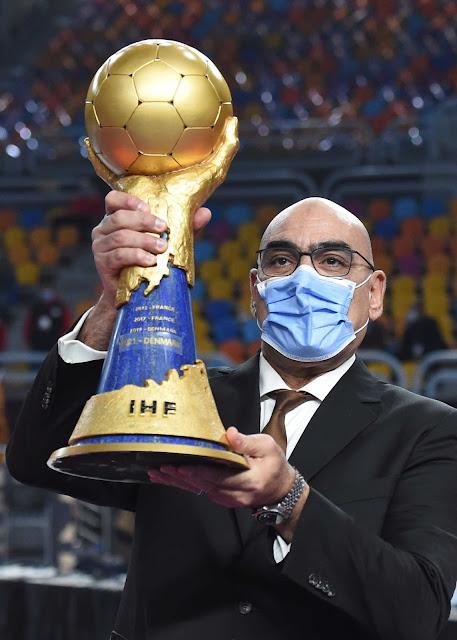 """: مصر استطاعت تنظيم بطولة العالم لليد بنجاح ملحوظ في وقت لا تزال جائحة """"كورونا"""" تفرض قيودا على حركة ونشاط البلدان حول العالم"""