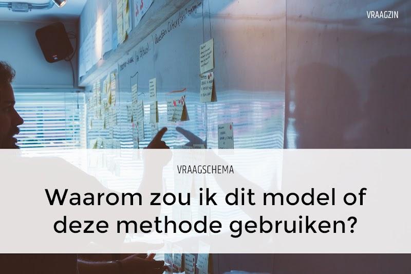 Omarm niet direct een model of methode, maar stel eerst vragen
