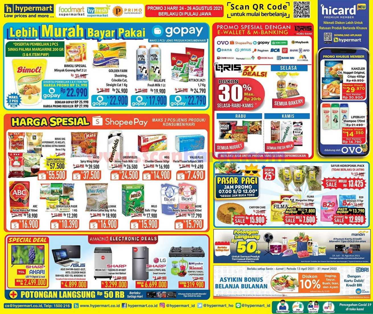 Katalog Promo Hypermart Weekday Terbaru 24 - 26 Agustus 2021 2