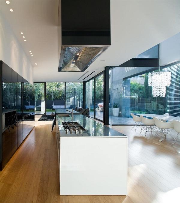 Casas minimalistas y modernas cocinas modernas y minimalistas for Casa minimalista 2017