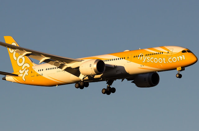 Boeing 787-9 Dreamliner of Scoot