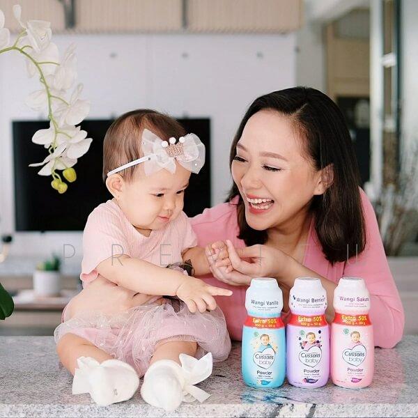 Cussons Baby Powder Bikin Bayi Lebih Happy