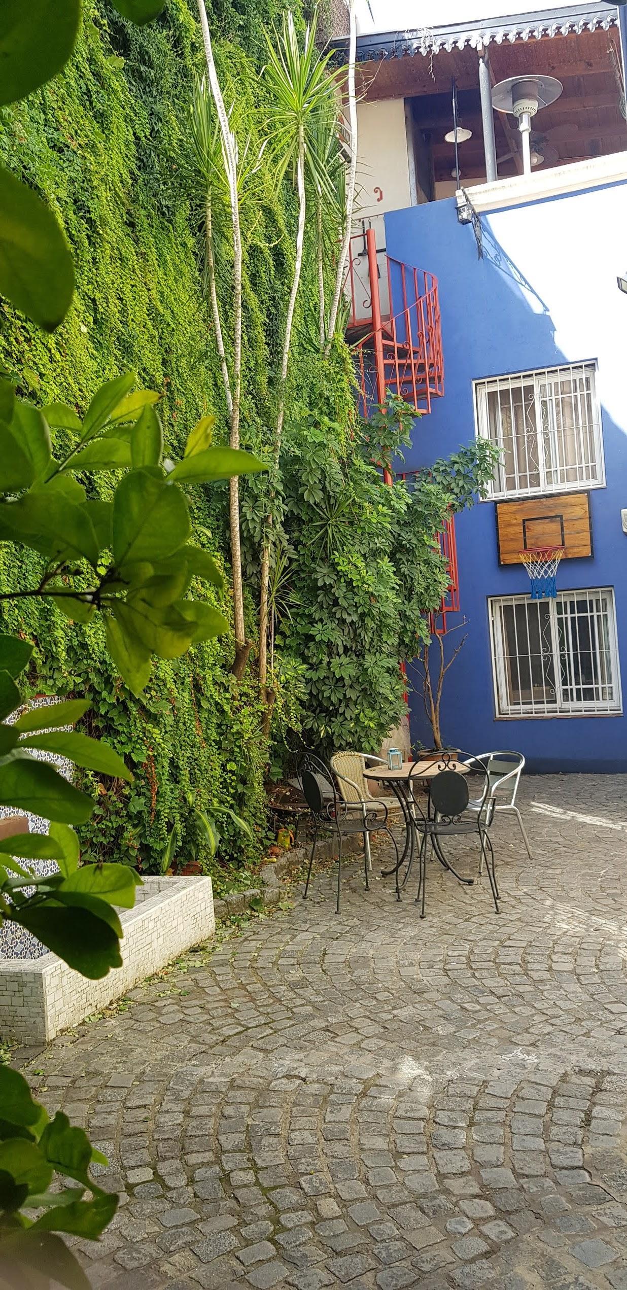 casa chorizo patio jardin