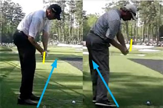 matt kuchar fred couples golf swing downswing