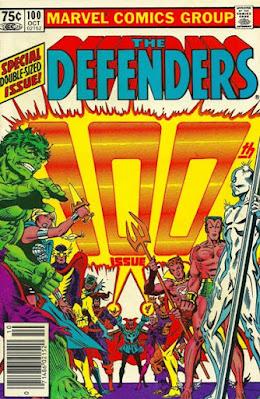 The Defenders #100
