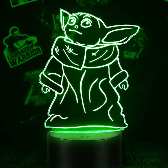 Baby Yoda Lamp - Star Wars