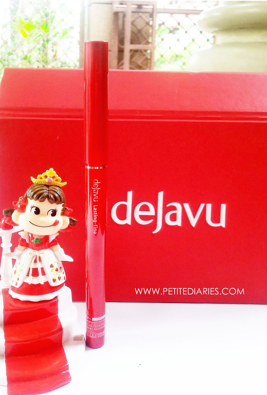 dejavu japan fine eyeliner fiberwig mascara japan review