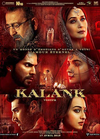 Kalank 2019 Full Movie Download DVDRip Hindi 720p 1.1GB Bolly4ufree.in