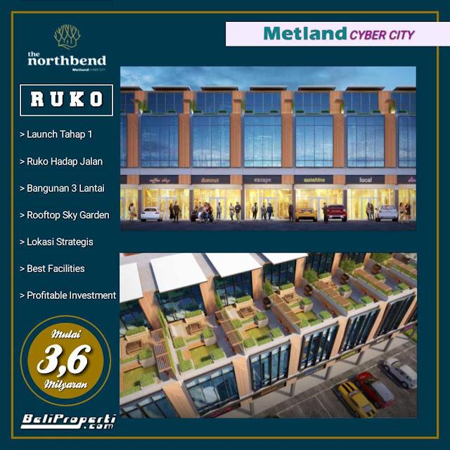ruko north bend metland cyber city