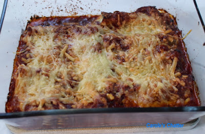 Carole's Chatter: Spinach & Cheese stuffed Cannelloni