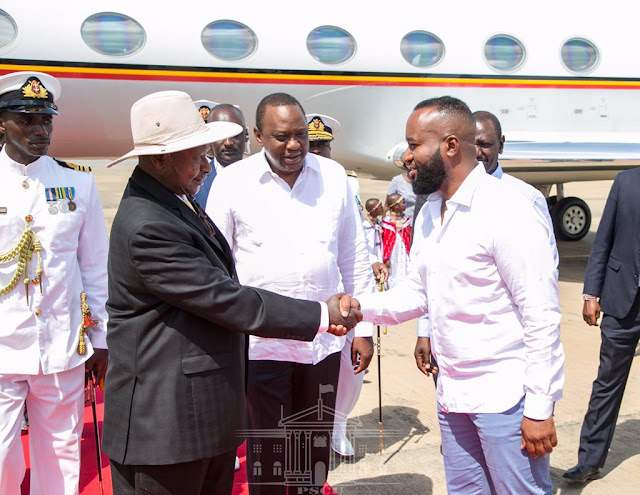 Museveni Wears Suit In Sweltering Mombasa Heat. Kenyans Advise Him