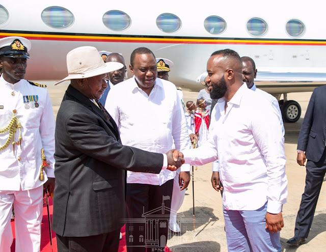 Museveni Wears Suit In Sweltering Mombasa Heat. Kenyans Advise Him