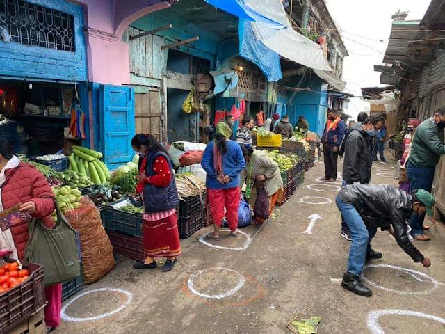Lockdown in Darjeeling