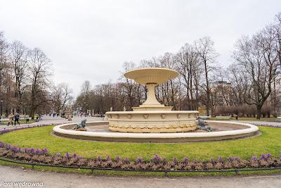 Ogród Saski: fontanna