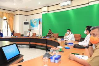 Sosialiasi Syarat dan Ketentuan Dalam Pengumpulan Massa Dalam Rangka Pelonggaran PSBB di Kota Tarakan - Tarakan Info
