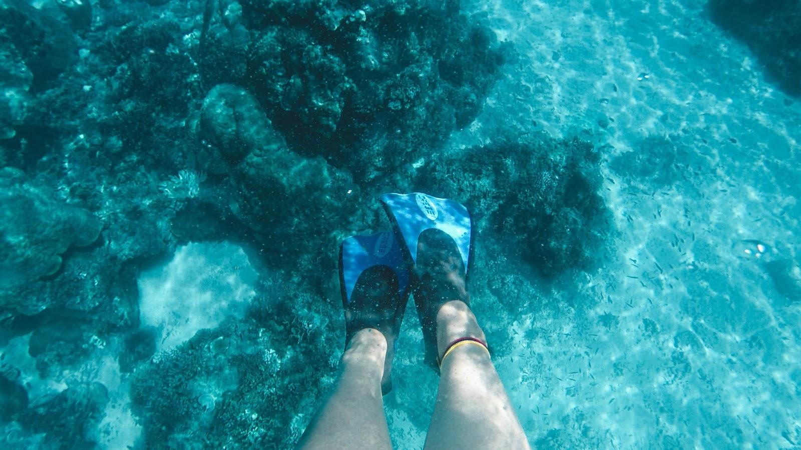 Snorkeling in Gili Trawangan