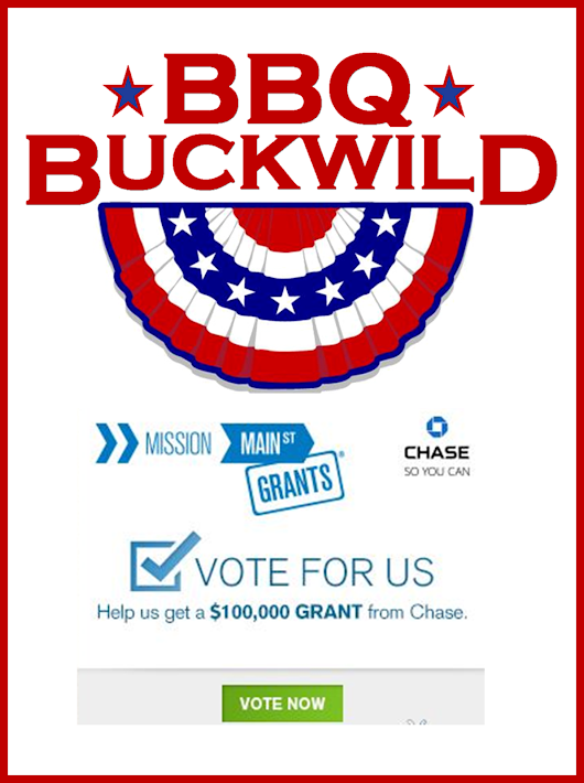 BBQ Buckwild WANTS YOUR VOTE!