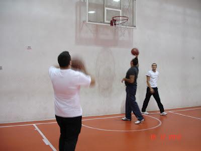 incalzire pentru basket