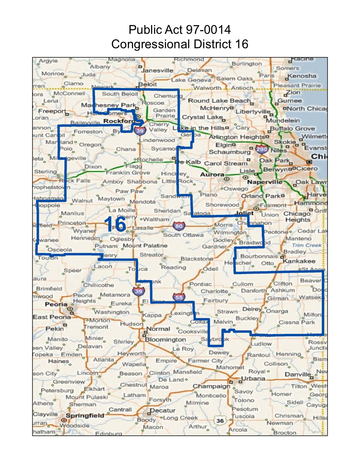 illinois 16th congressional district