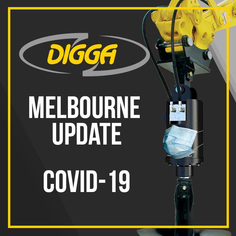 Digga Australia Melbourn Facility - Covid Safe Plan