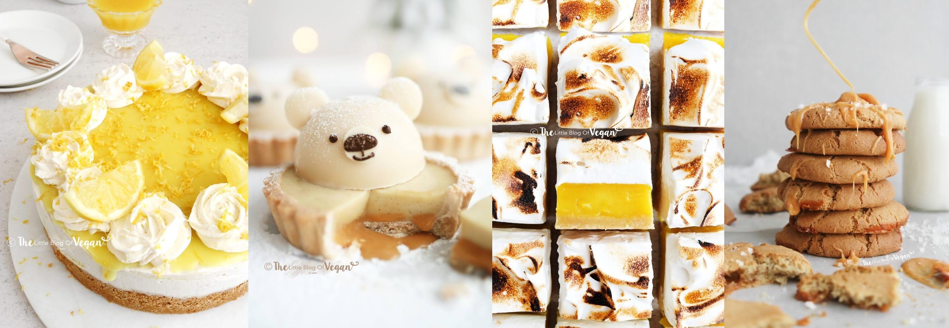 Collage of dessert recipes