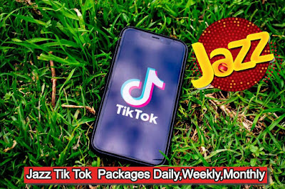 Jazz Tiktok Packages daily, weekly and monthly