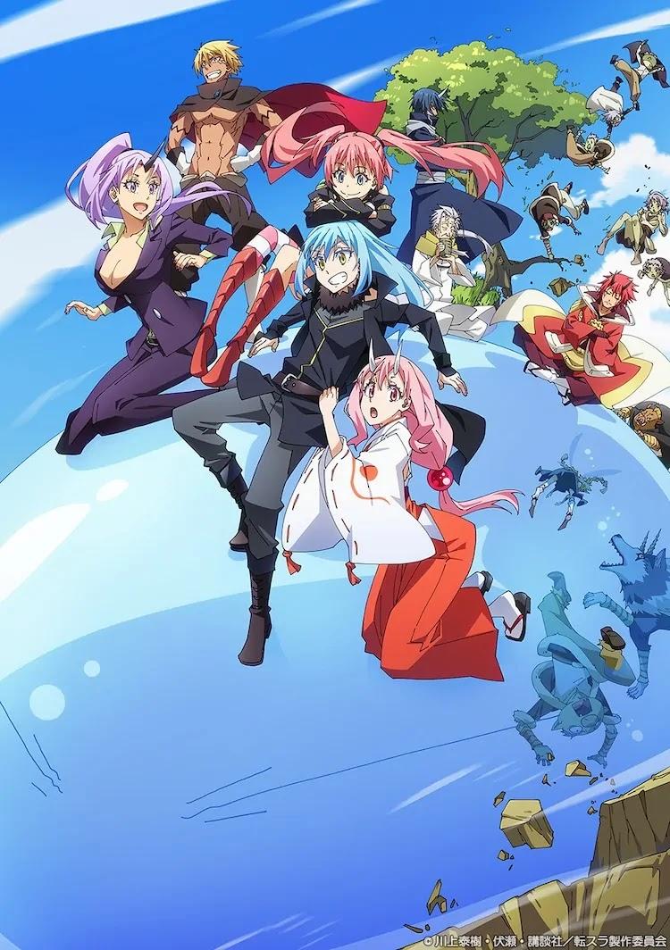 Film anime Tensei shitara Slime Datta Ken